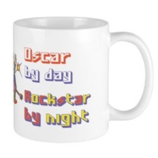 Oscar - Rock Star by Night Mug