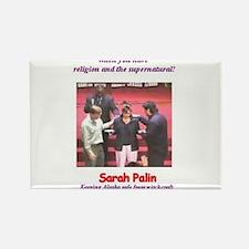 Sarah Palin's exorcism Rectangle Magnet