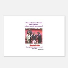 Sarah Palin's exorcism Postcards (Package of 8)