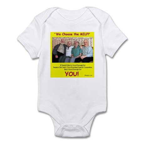 Vice Presidential Selection C Infant Bodysuit