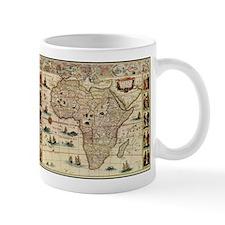 Ancient Africa Map Mug