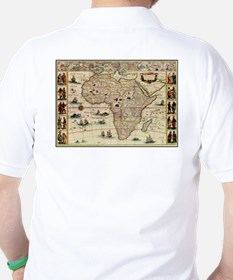 Ancient Africa Map T-Shirt
