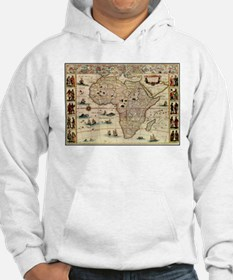 Ancient Africa Map Hoodie