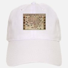 Ancient Africa Map Baseball Baseball Cap