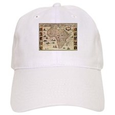 Ancient Africa Map Baseball Cap