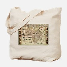 Ancient Africa Map Tote Bag