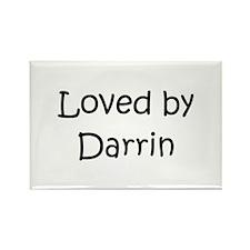 Cute Darrin Rectangle Magnet