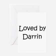 Cute Darrin Greeting Card