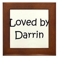 Unique Darrin Framed Tile