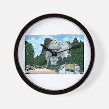 Black Hills SD Wall Clock
