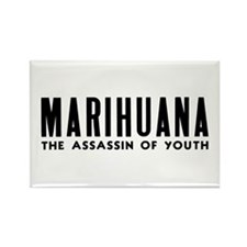 MARIHUANA - The Assassin of Youth Rectangle Magnet
