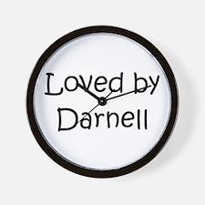 Cute Darnell Wall Clock