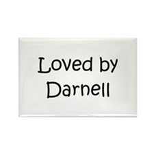 Cute Darnell Rectangle Magnet