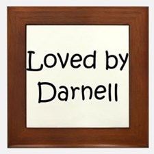 Cute Darnell Framed Tile