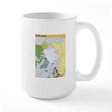 Arctic Polar Map Mug