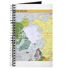 Arctic Polar Map Journal