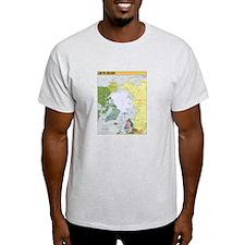 Arctic Polar Map T-Shirt