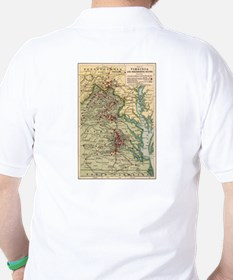 Arctic Polar Map T-Shirt