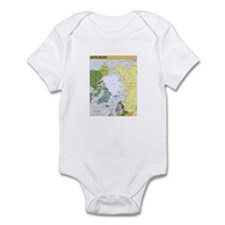 Arctic Polar Map Infant Bodysuit