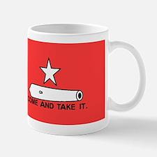 Red Gonzales Flag Mug