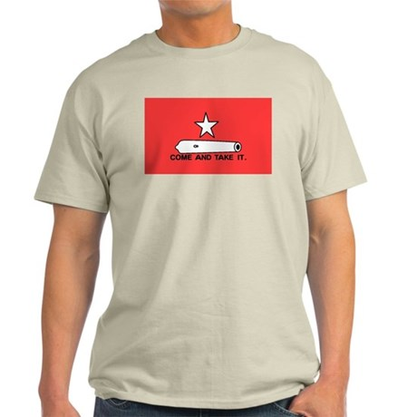 Red Gonzales Flag Light T-Shirt