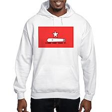 Red Gonzales Flag Hoodie