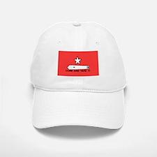 Red Gonzales Flag Baseball Baseball Cap