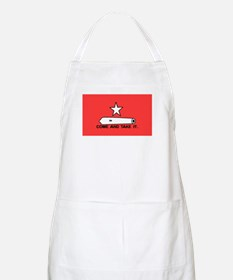 Red Gonzales Flag BBQ Apron