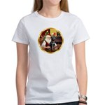 Santa's Lab (blk)#1 Women's T-Shirt