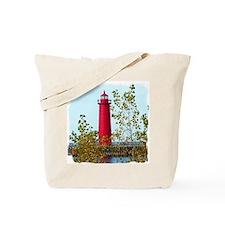 Muskegon Lighthouse Tote Bag