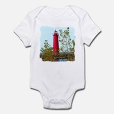Muskegon Lighthouse Onesie