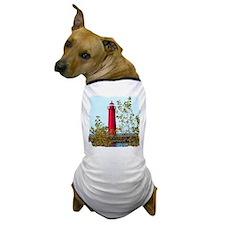 Muskegon Lighthouse Dog T-Shirt