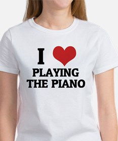 I Love Playing the Piano Tee