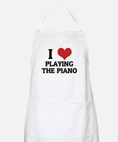I Love Playing the Piano BBQ Apron