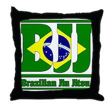 BJJ Brazilian Jiu Jitsu Throw Pillow
