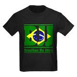 Brazilian jiu jitsu Kids T-shirts (Dark)