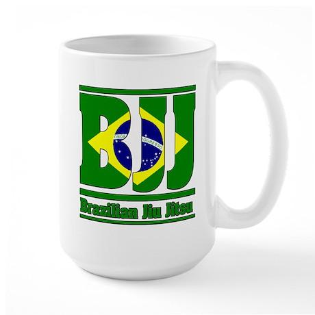 BJJ Brazilian Jiu Jitsu Large Mug
