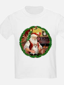 Santa's Pomeranian #1 T-Shirt