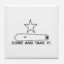 Gonzales Flag Tile Coaster