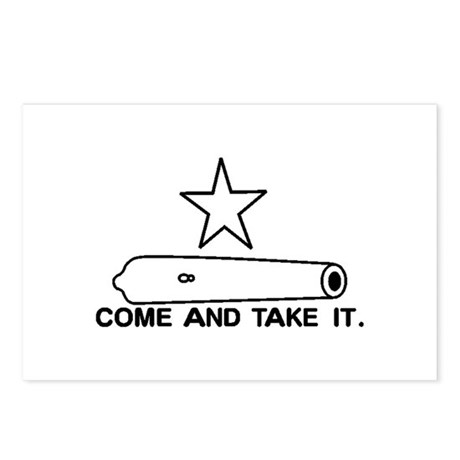 Gonzales Flag Postcards (Package of 8)