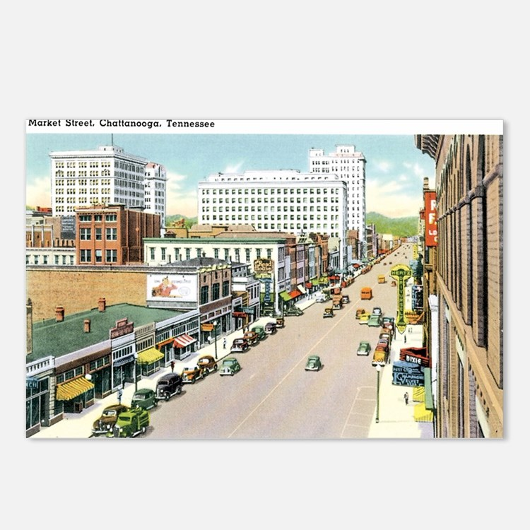 Chattanooga Tennessee TN Postcards (Package of 8)