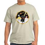 Night Flight/Pug (blk)#13 Light T-Shirt