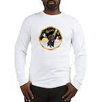 Night Flight/Pug (blk)#13 Long Sleeve T-Shirt