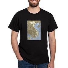 Vietnam Asia Map T-Shirt