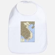 Vietnam Asia Map Bib