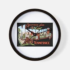 Memphis TN Wall Clock
