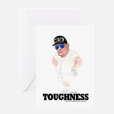 Thanks Coach! Toughness Greeting Card