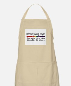 recruit young boys BBQ Apron