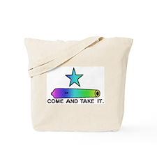 Gay Pride Gonzales Flag Tote Bag