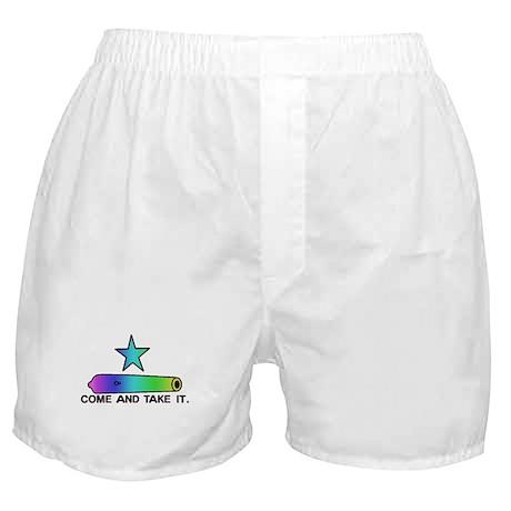 Gay Pride Gonzales Flag Boxer Shorts